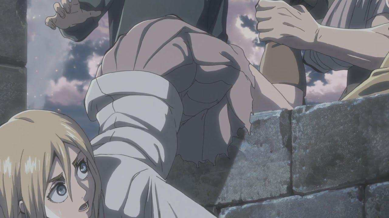 Images Of Christa Attack On Titan Reiner