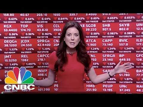 European Markets In The Red After Donald Trump Win | Squawk Box | CNBC