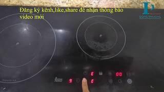 Sửa bếp từ Teka lỗi E5