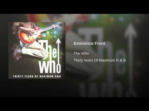 Eminence Front