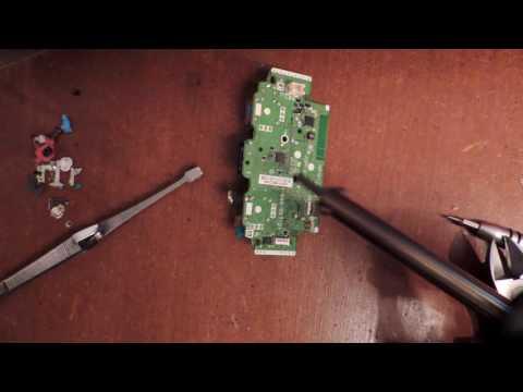 Comment remplacer le system joystick hs de la manette Ps4