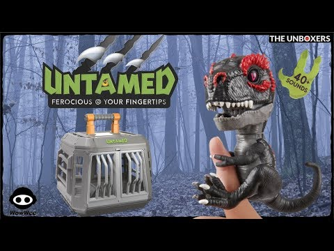 Untamed Fingerlings Jailbreak Playset & Exclusive Infrared T-Rex