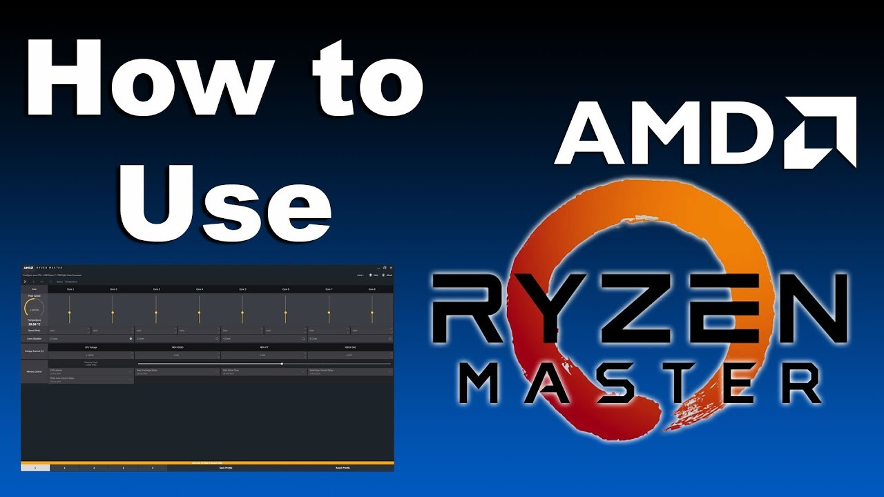 RYZEN MASTER IS KING | How To Use AMD Ryzen Master