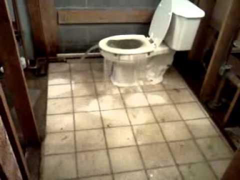 Toilet overflow  YouTube