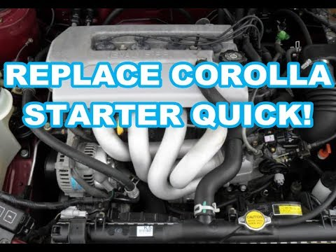 Radiator For 98-02 Toyota Corolla Chevy Prizm 1.8L L4 4 Cylinder LE CE VE LSi