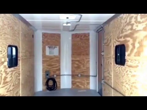 Rv Electrical Outlet >> New 2016 Cargo Craft 7x16 Enclosed trailer - insulated and ...