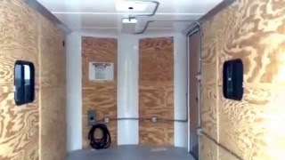 New 2016 Cargo Craft 7x16 Enclosed trailer - insulated and power package