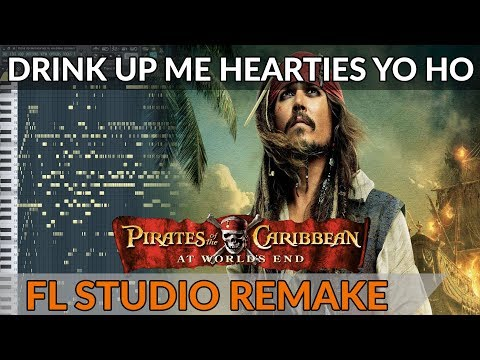 Pirates Of The Caribbean Orchestral Medley - FL Studio Remake