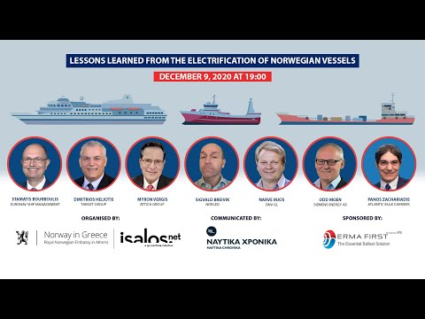 Lessons learned from the electrification of Norwegian vessels
