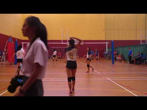 2018 A Div National Girls ACJC vs EJC 3-1 set 1