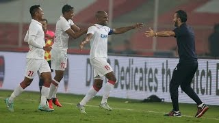 florent malouda scores in delhi dynamos big isl win vs chennaiyin fc