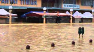 Perkembangan banjir di Kota Bharu Kelantan 2014  ( 27/12/2014 )