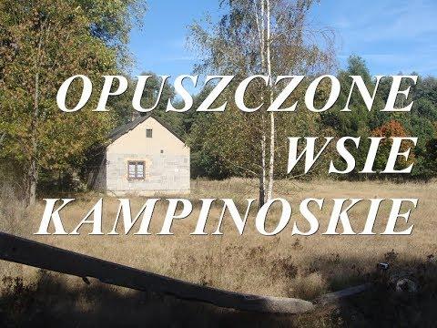 Opuszczone wsie kampinoskie 30 września 2018r.