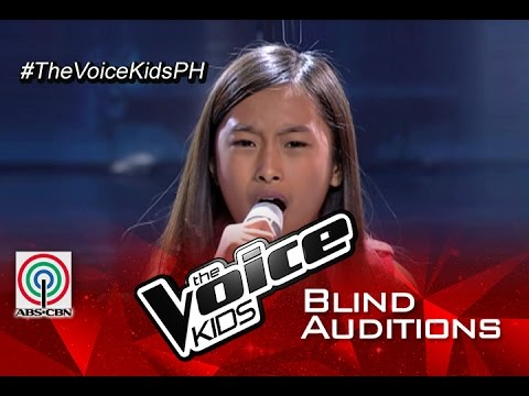 """The Voice Kids Philippines 2015 Blind Audition: """"Grenade"""" by Kiyana"""