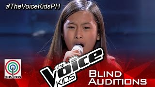 "The Voice Kids Philippines 2015 Blind Audition: ""Grenade"" by Kiyana"