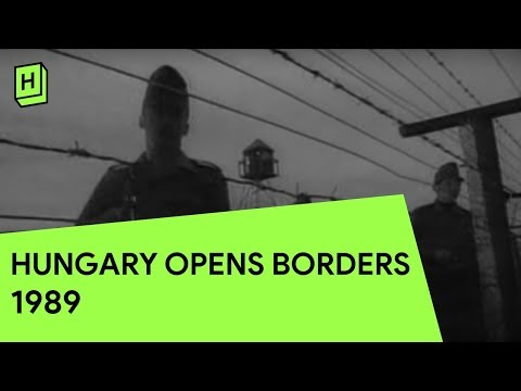 Hungary Opens it's Borders | 1989 | German Reunification