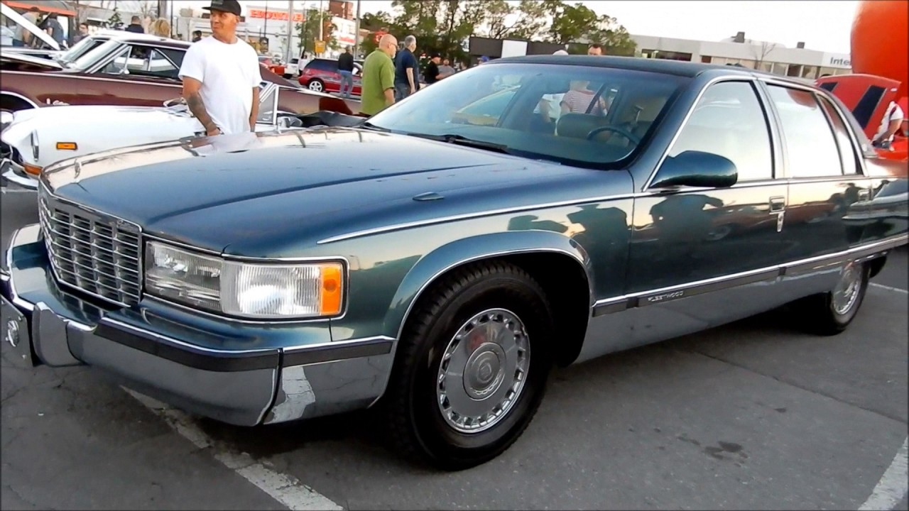 clean 1995 cadillac fleetwood brougham for sale in montreal youtube clean 1995 cadillac fleetwood brougham for sale in montreal