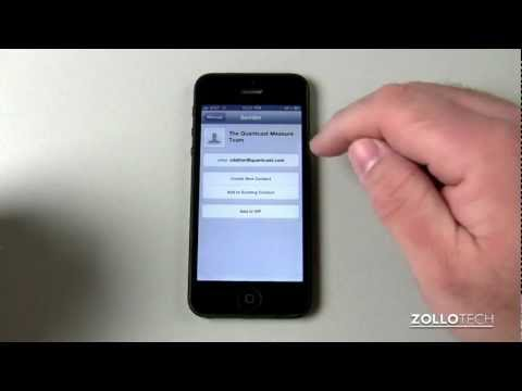 iPhone 5 Tips - Email