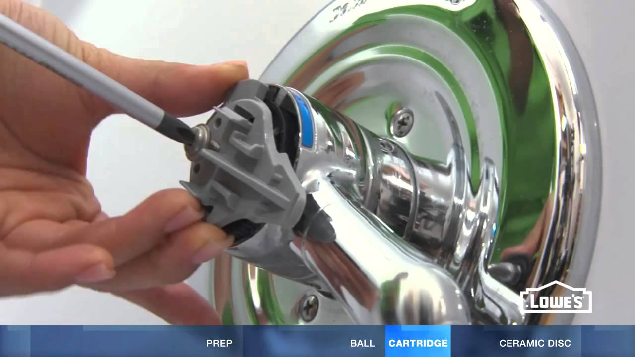 LOWES: How to Fix A Dripping or Leaky Single Handle Faucet - YouTube