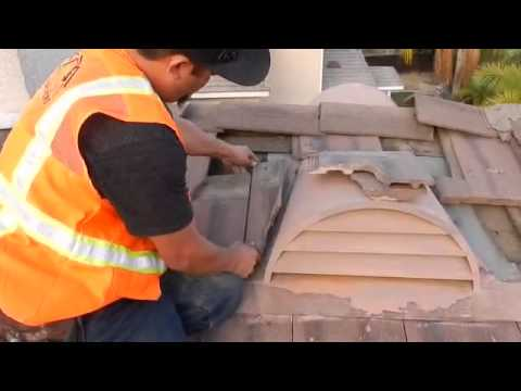 Chino Hills Roof Repair Dormer Vent Leak Dormer Vent