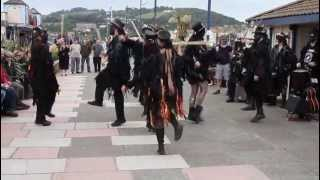 Beltane Border Morris Dancing The BELTANE FIRE DANCE