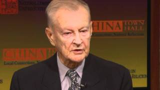 Zbigniew Brzezinski on U.S.-China Relations: CHINA Town Hall 2011
