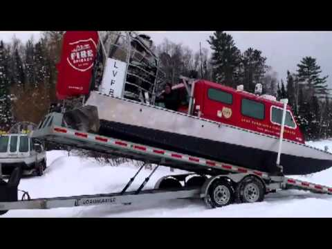 Vermilion Air Boat