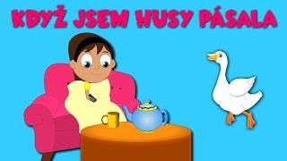 Písničky pro děti a nejmenší   Když jsem husy pásala + 22 min.