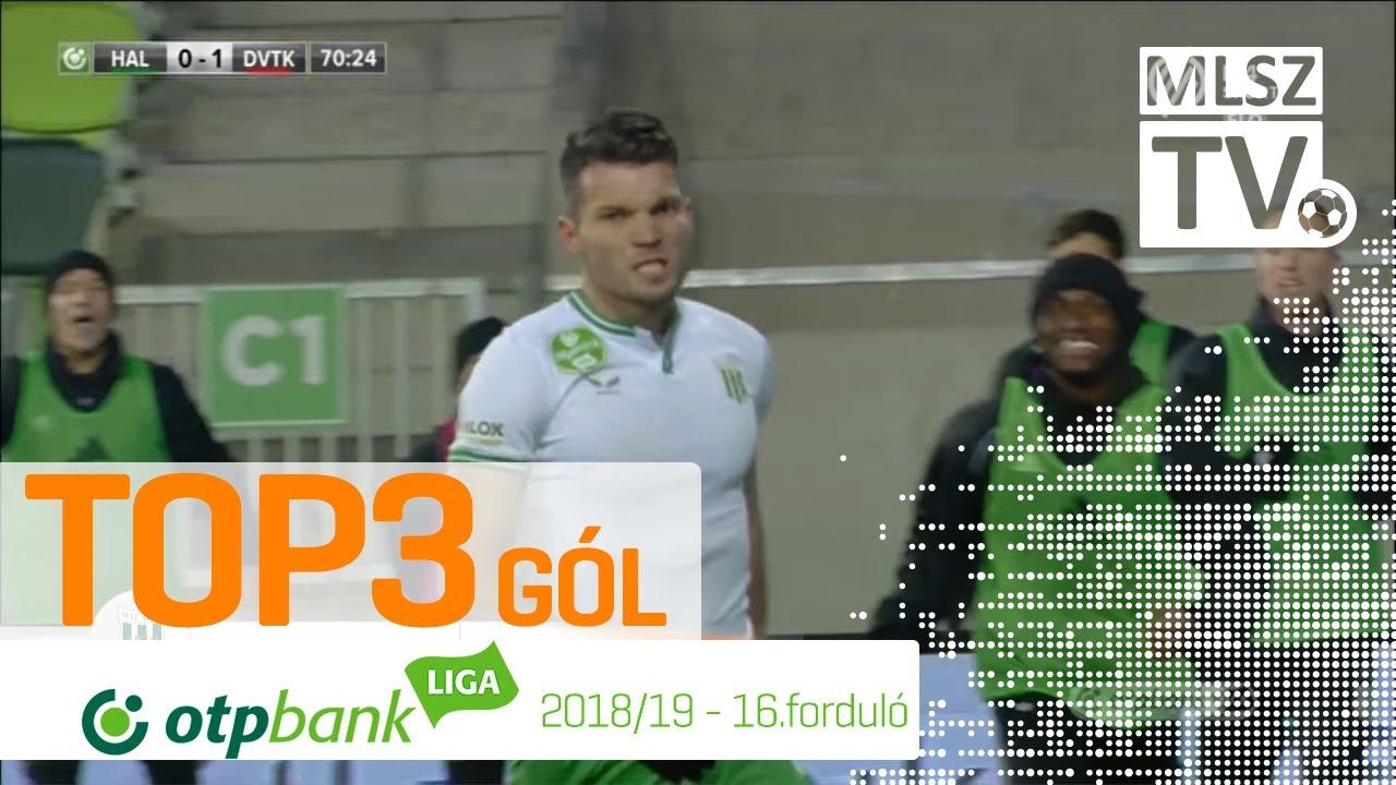 TOP 3 GÓL – 16. forduló | OTP Bank Liga | 2018/2019