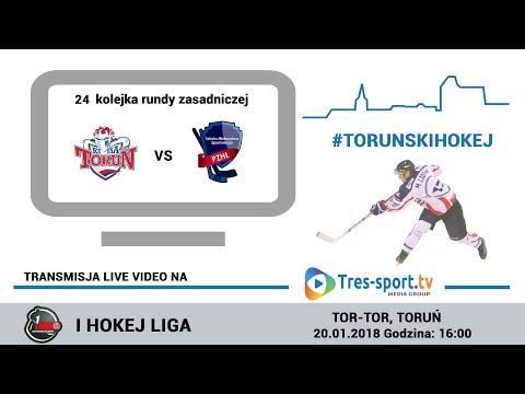 Nesta Mires Toruń - SMS PZHL Katowice | 24 kolejka | Hokej I Liga