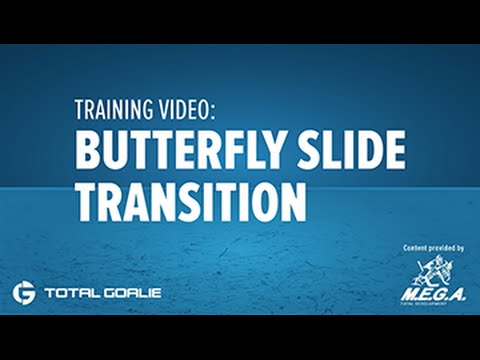 Be A Goalie Training Video Butterfly Slide Transition Drill