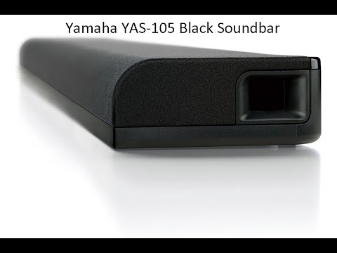 yamaha yas 105 sound bar unboxing funnycat tv. Black Bedroom Furniture Sets. Home Design Ideas