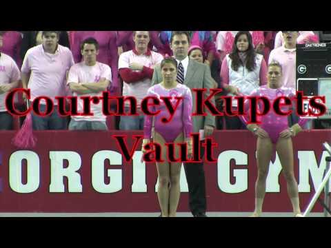 Courtney Kupets: Vault at 2009 Utah Meet (HD)