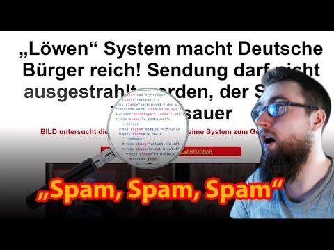 Morpheus analysiert SPAM-Mail & findet Scam Bitcoin-Seiten