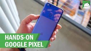 HANDS ON: Google Pixel - Really Blue