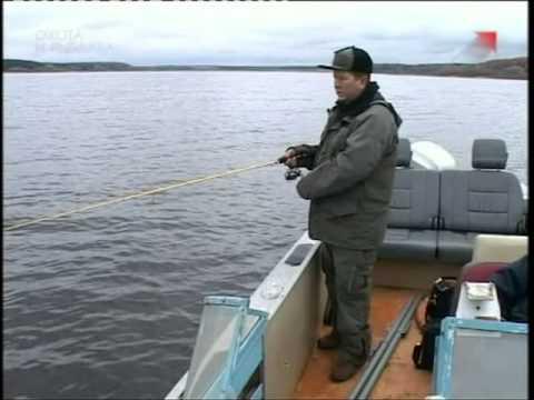 ловля джигом в отвес с лодки