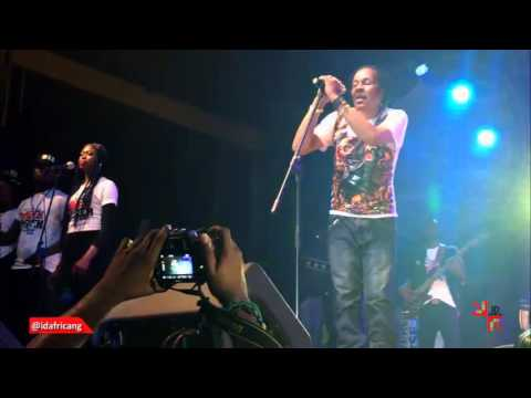 Majek Fashek's First Performance After Rehab at Felabration 2015 with 7UP