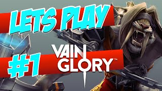 'NEW iOS MOBA GAME!' | Vain Glory | Let's Play #1 - Intro