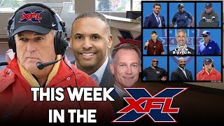 This Week in the XFL | June Jones, AAF Hires, Ranking the Coaches