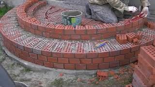 видео Как построить крыльцо к дому из кирпича?