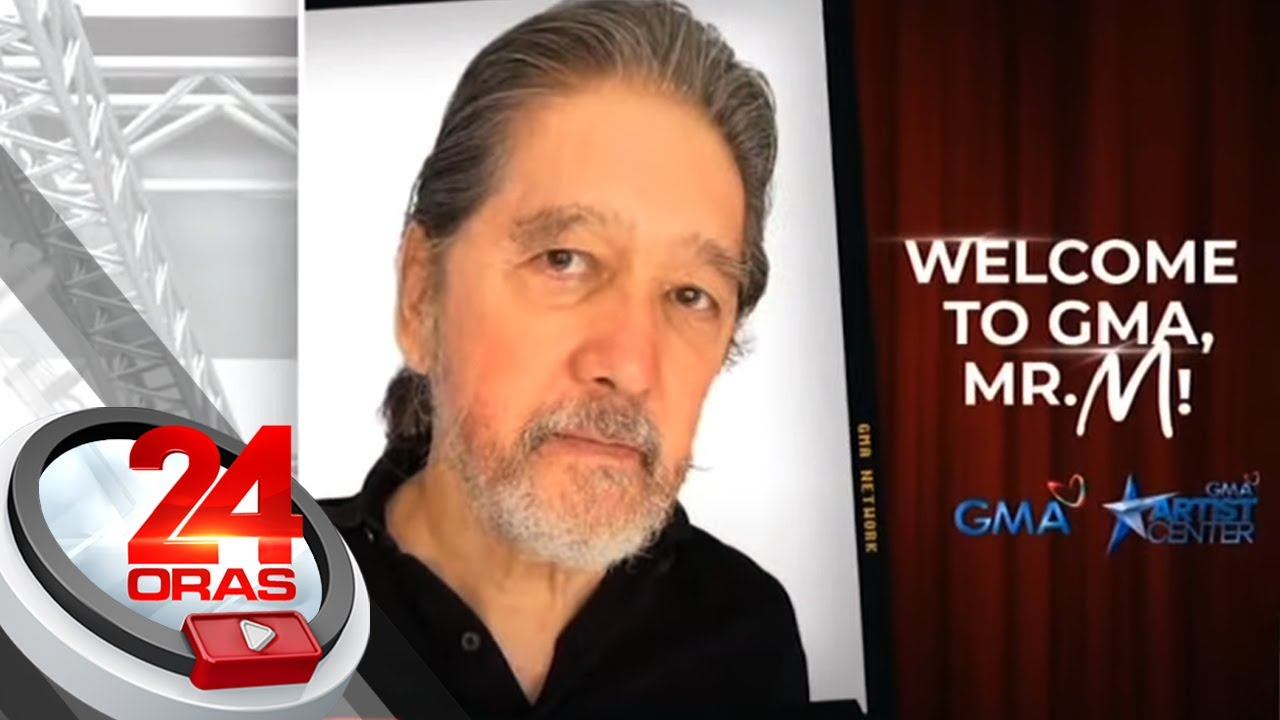 Johnny Manahan a.k.a. Mr. M is now a Kapuso! | 24 Oras