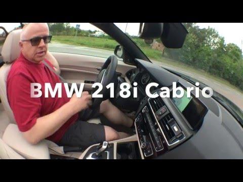 bmw 218i cabrio test pl pertyn gl dzi youtube. Black Bedroom Furniture Sets. Home Design Ideas