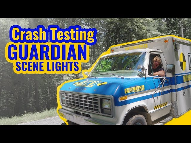 Off-Roading Ambulance - Firetech LED Scene Lights Durability Test