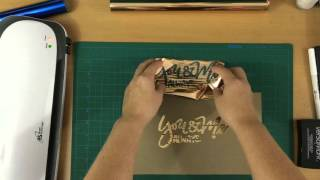 Foiling Your Lettering!