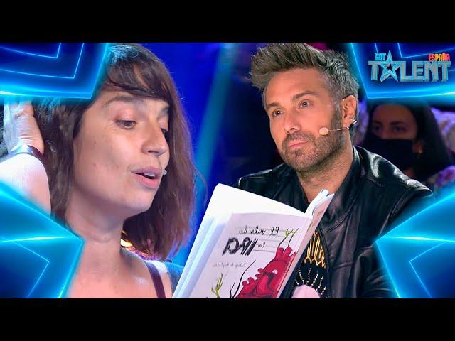 El HOMENAJE FEMINISTA con POESÍA a MUJERES LUCHADORAS | Audiciones 7 | Got Talent España 7 (2021)