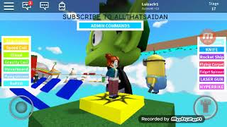 My first video of the channel playing ROBLOX (LUIZA)