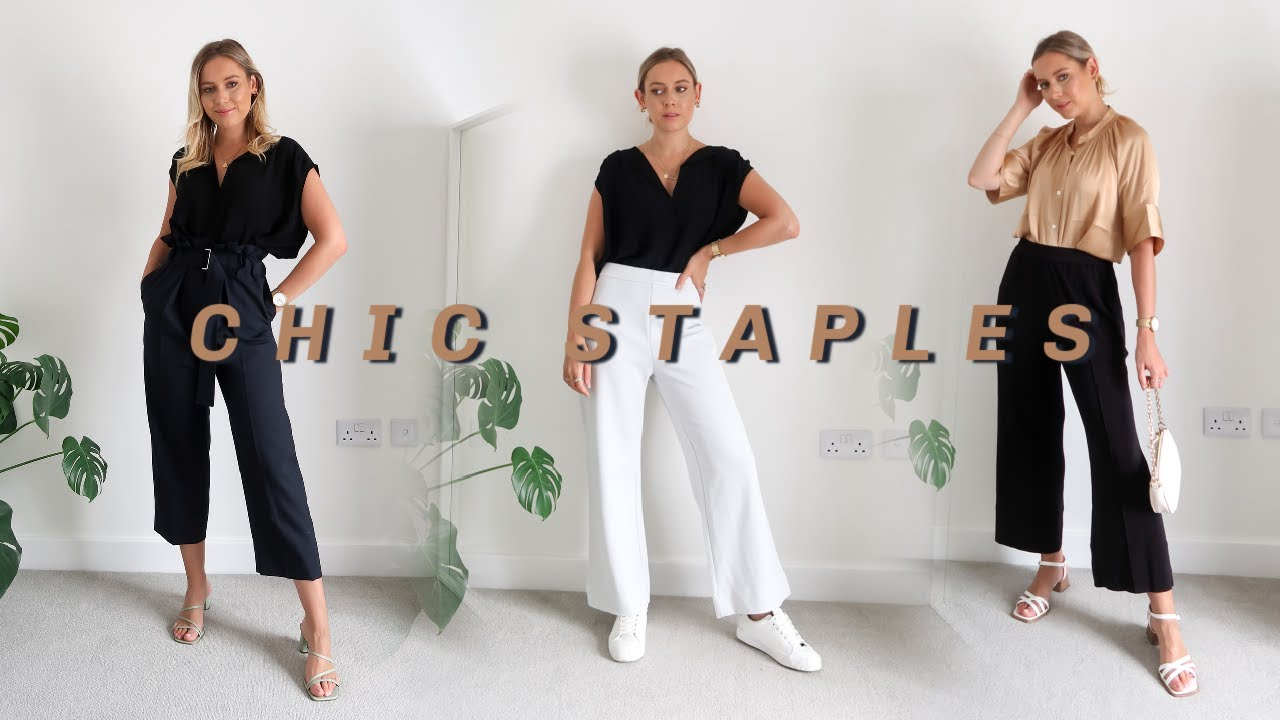 CLASSIC CHIC STAPLES   NEW-IN WARDROBE ITEMS FROM ARKET!   August 2020 Haul   Charlotte Beer