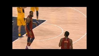 LeBron James blames J.R. Smith after Gasol's dunk! The Abominable LeBron