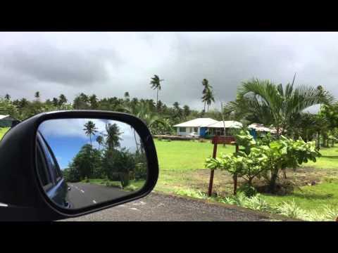 Driving in Western Samoa