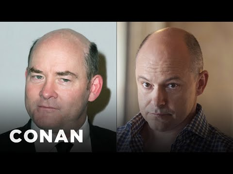 David Koechner Gets Mistaken For Rob Corddry  - CONAN on TBS